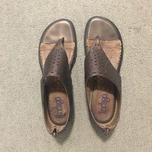 Indigo by Clarks Bronze Sandals